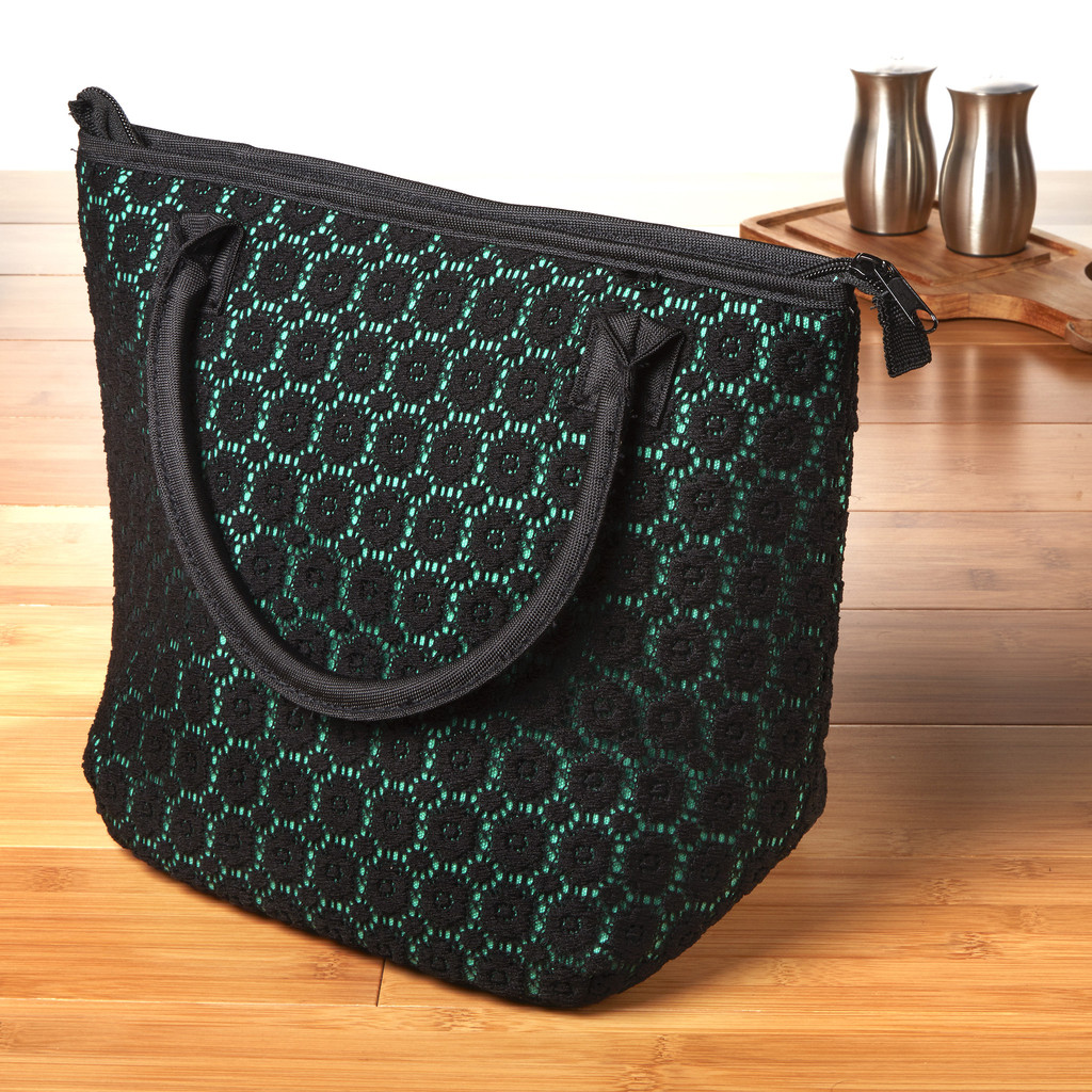 Luxurious Lace Chicago Insulated Lunch Bag, by Fit & Fresh, $19.99