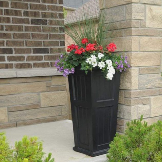 Tall Cape Cod Planter