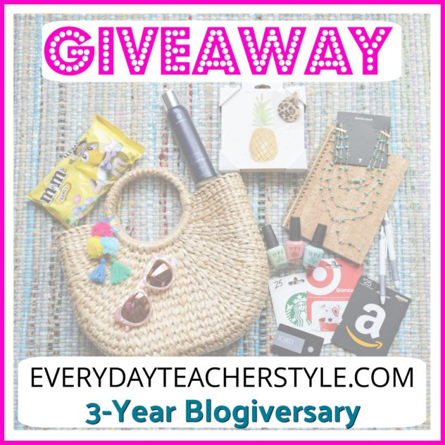 3-year-blogiversary-giveaway-favorite-things