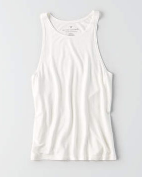 American Eagle Soft & Sexy Hi-Neck Tank
