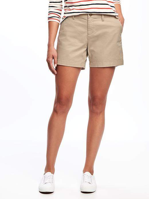 Old Navy Khaki Everyday Midrise Shorts