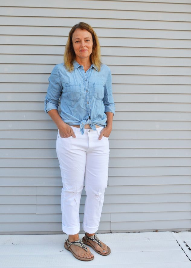 Stitch Fix Liverpool Betty Chambray Shirt