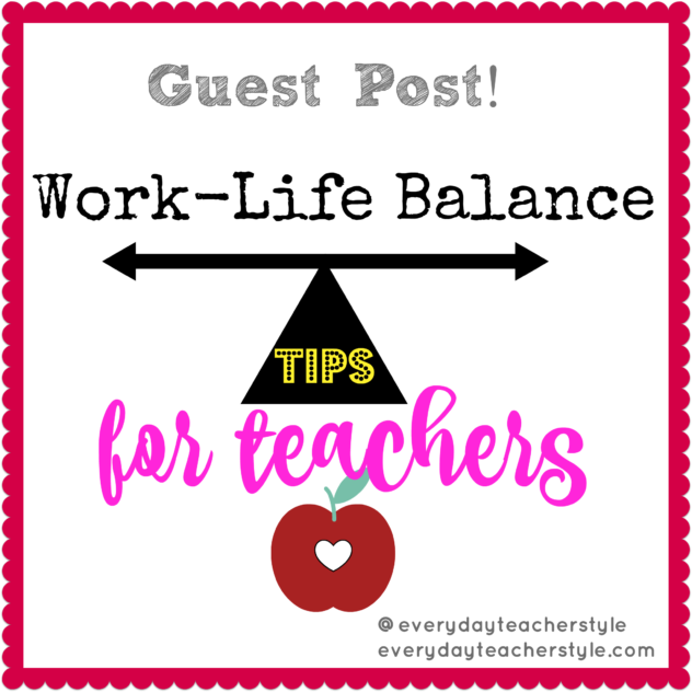 work life balance for teachers