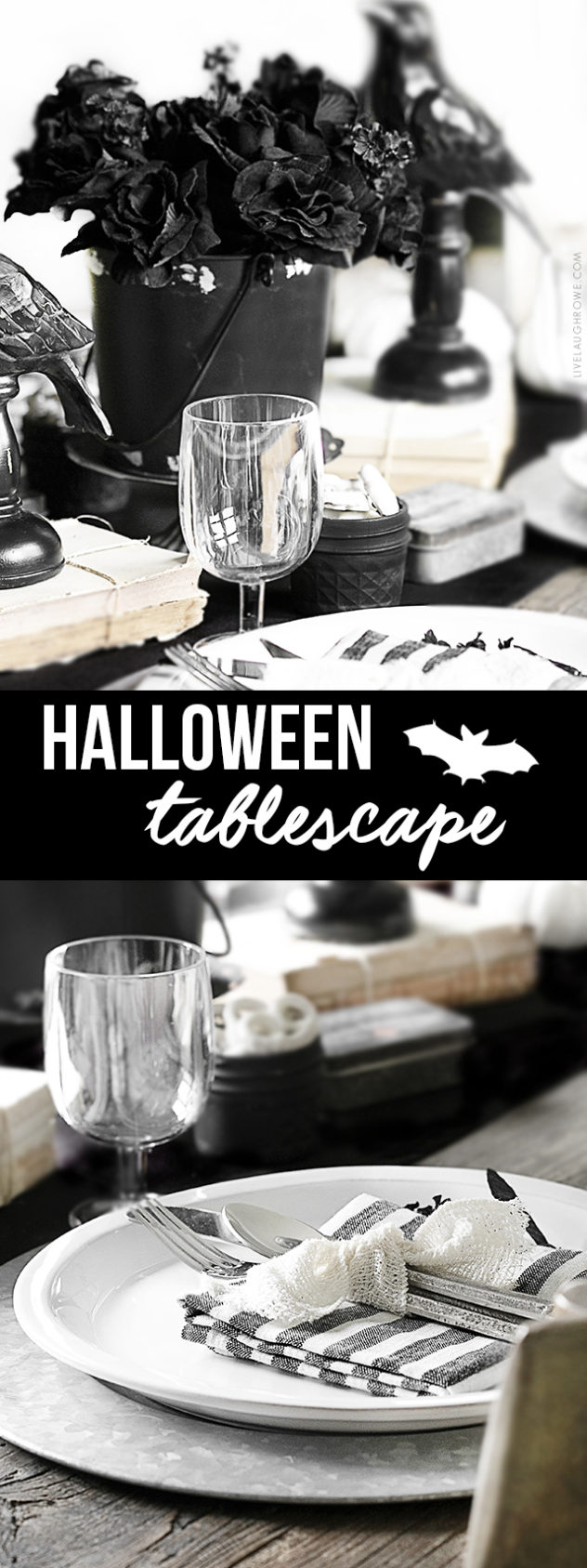 Halloween Tablescape Live Laugh Rowe