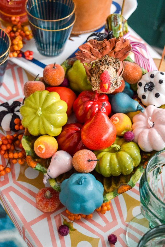 Colourful and Magical Fall Dining Room PMQ for Two