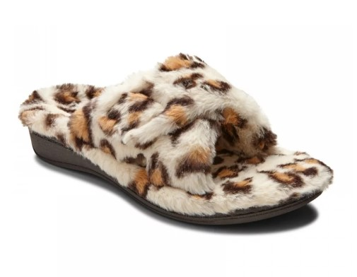 Vionic Relax Slippers Leopard