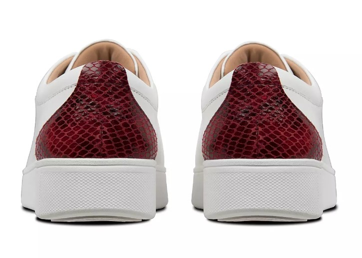FitFlop Rally Snake Print Sneaker