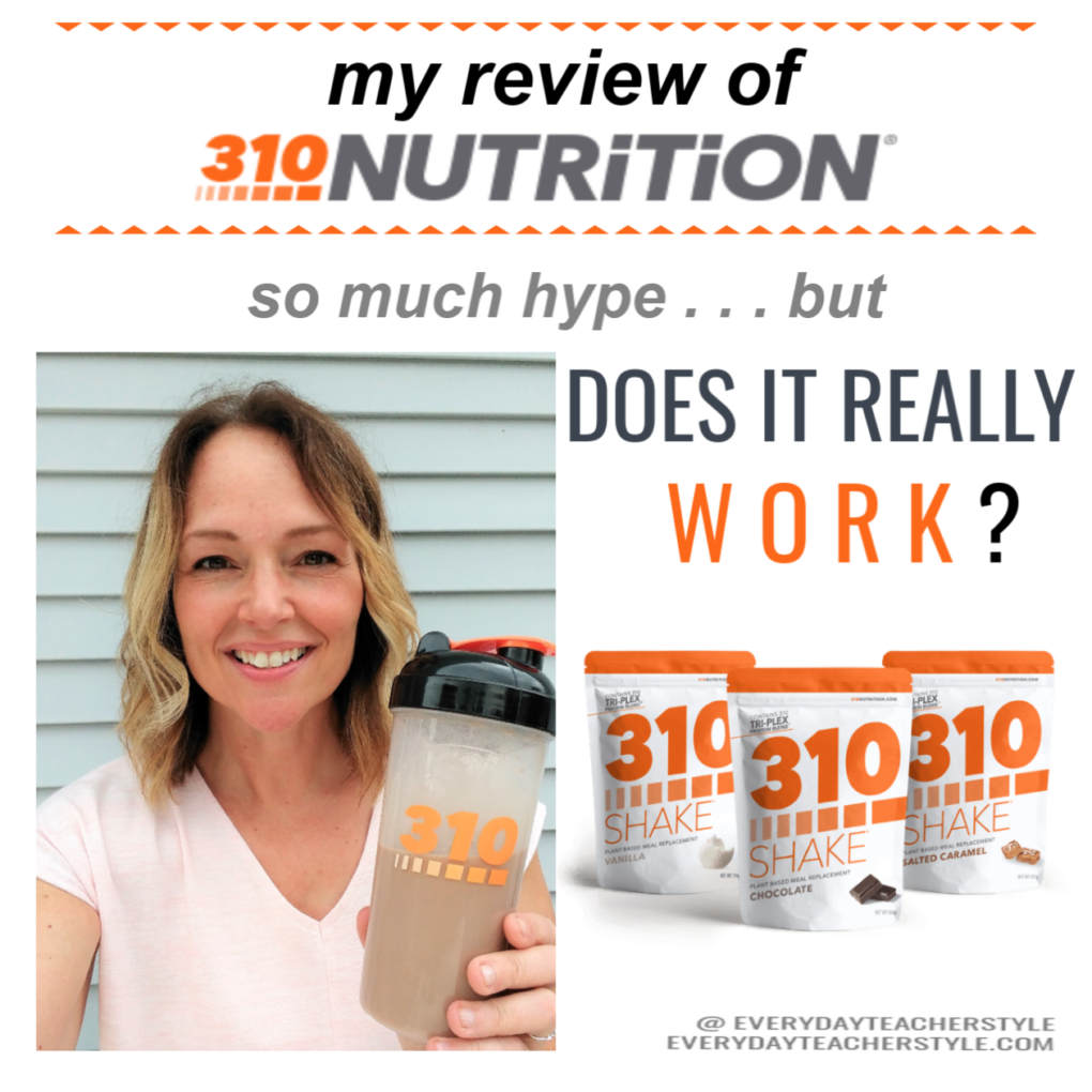 My review of 310 Nutrition and 310 Shakes
