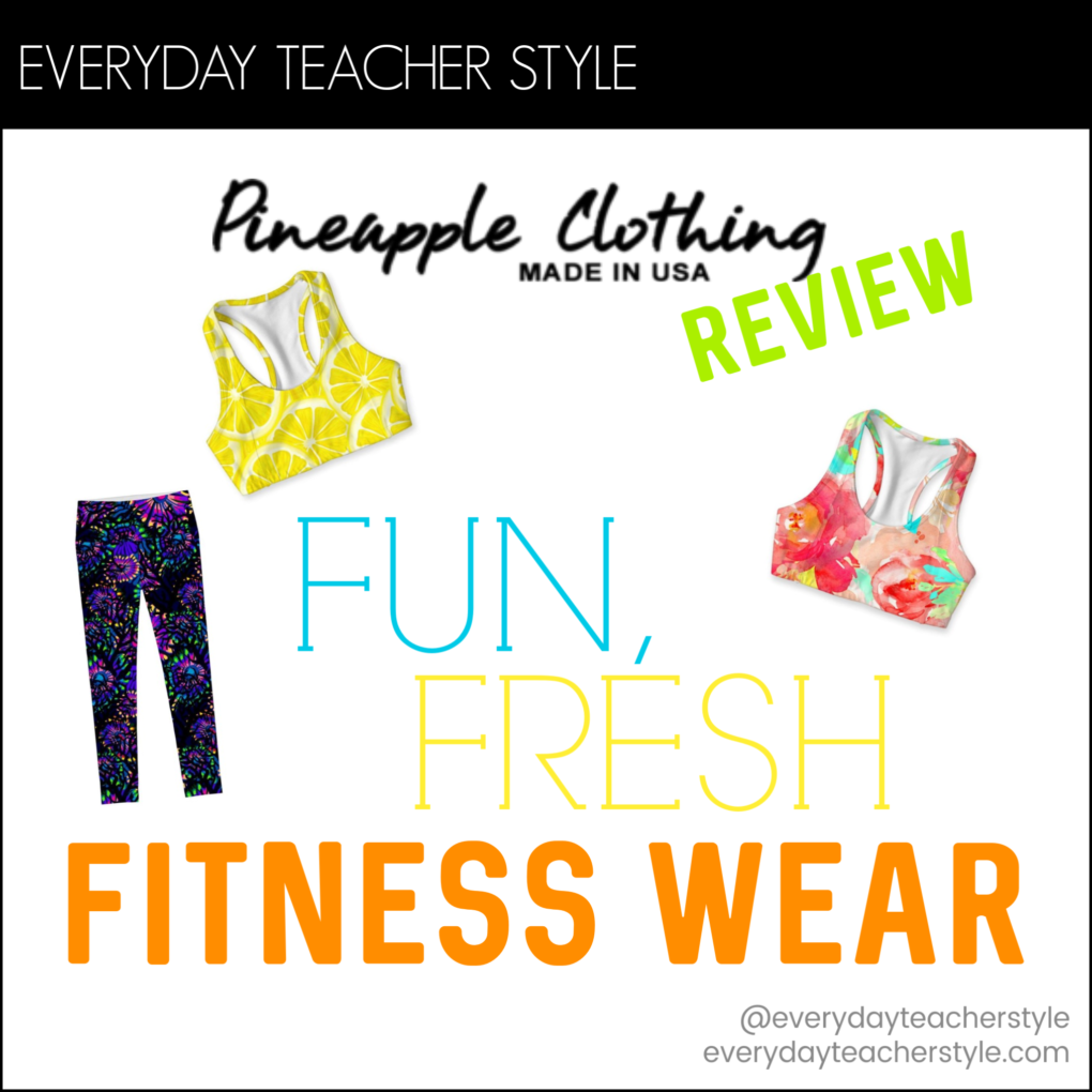 Pineapple Clothing Fitness Wear Review