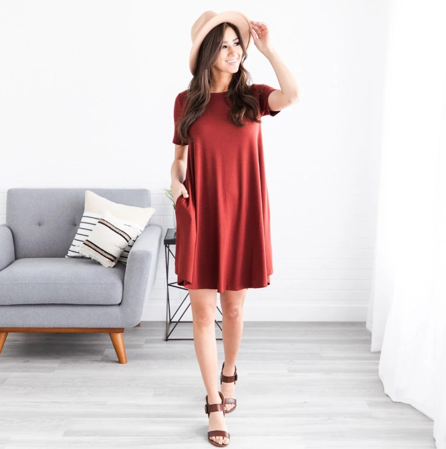 Teacher dress ideas t-shirt dress