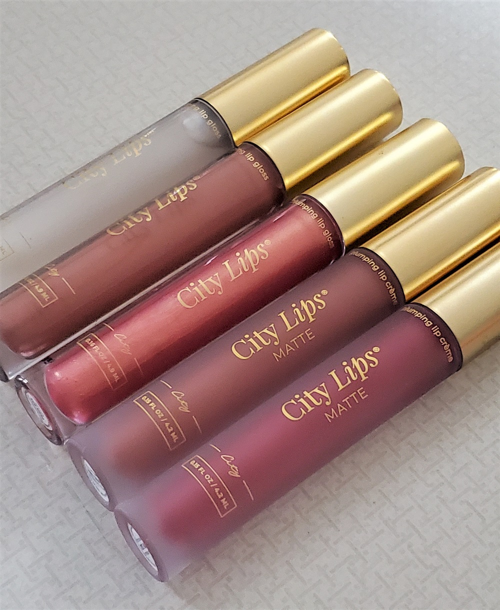 City Lips Glosses and Matte Creme Lip Colors