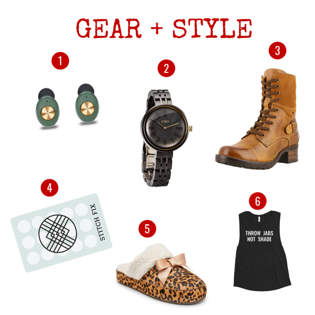 Gear and style gift ideas