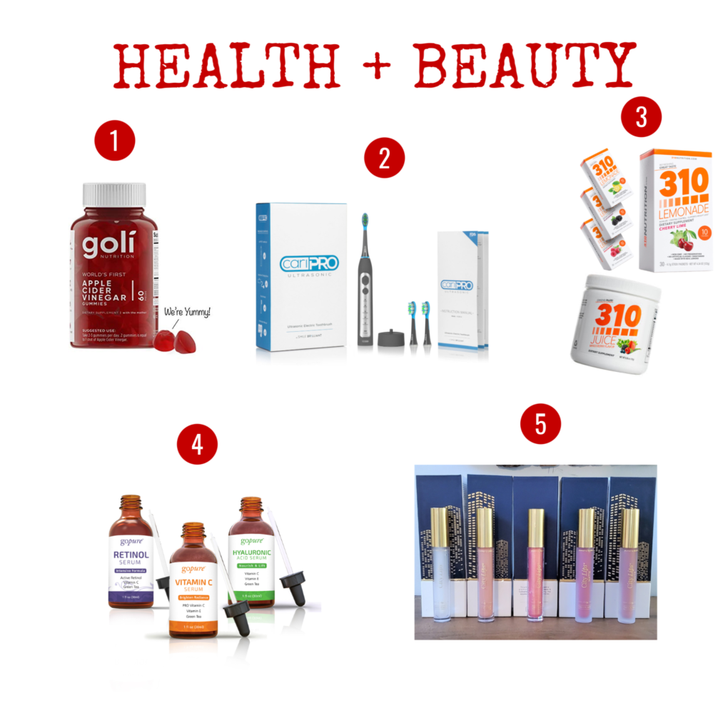 health and beauty holiday gift guide ideas christmas