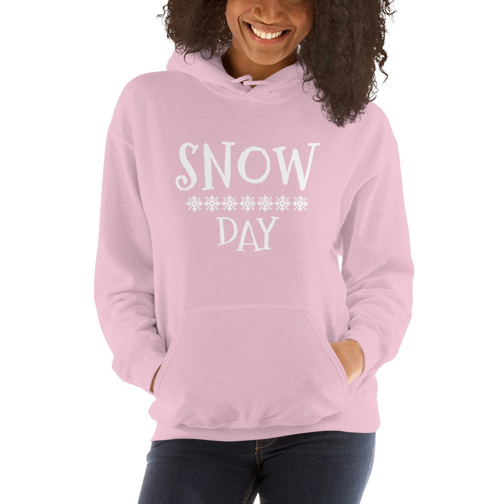 Everyday Teacher Style SNOW DAY hoodie
