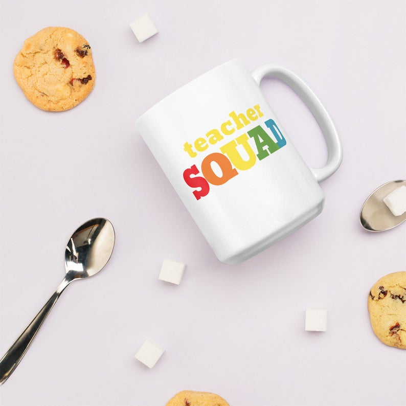 Teacher Squad Mug Everyday Teacher Style