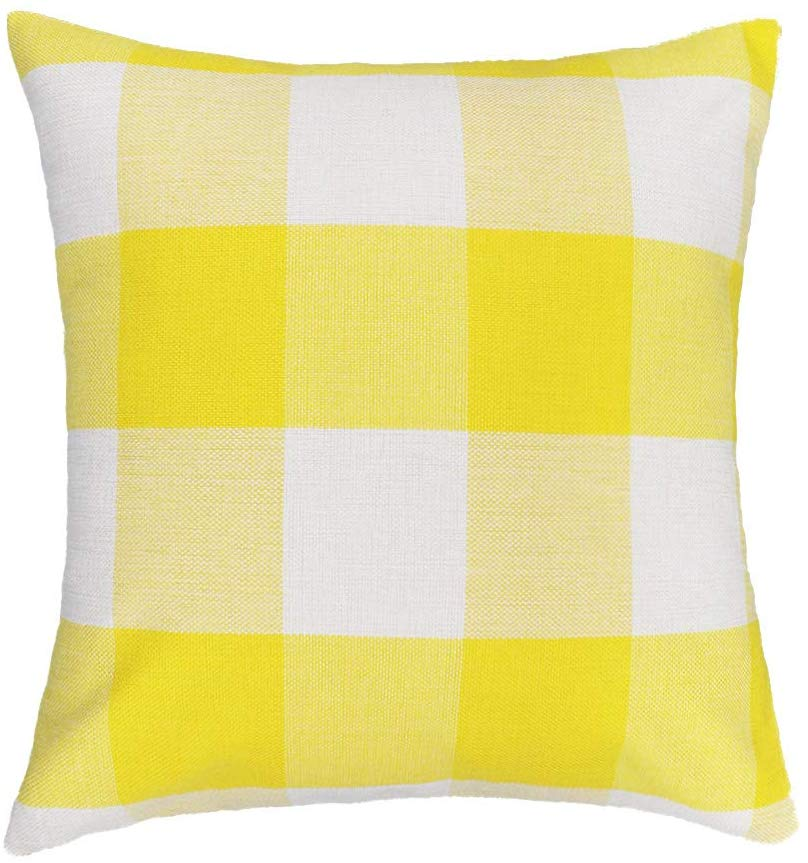 Gingham Buffalo Check Pillow Covers