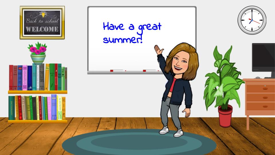 Everyday Teacher Style Bitmoji Classroom Example