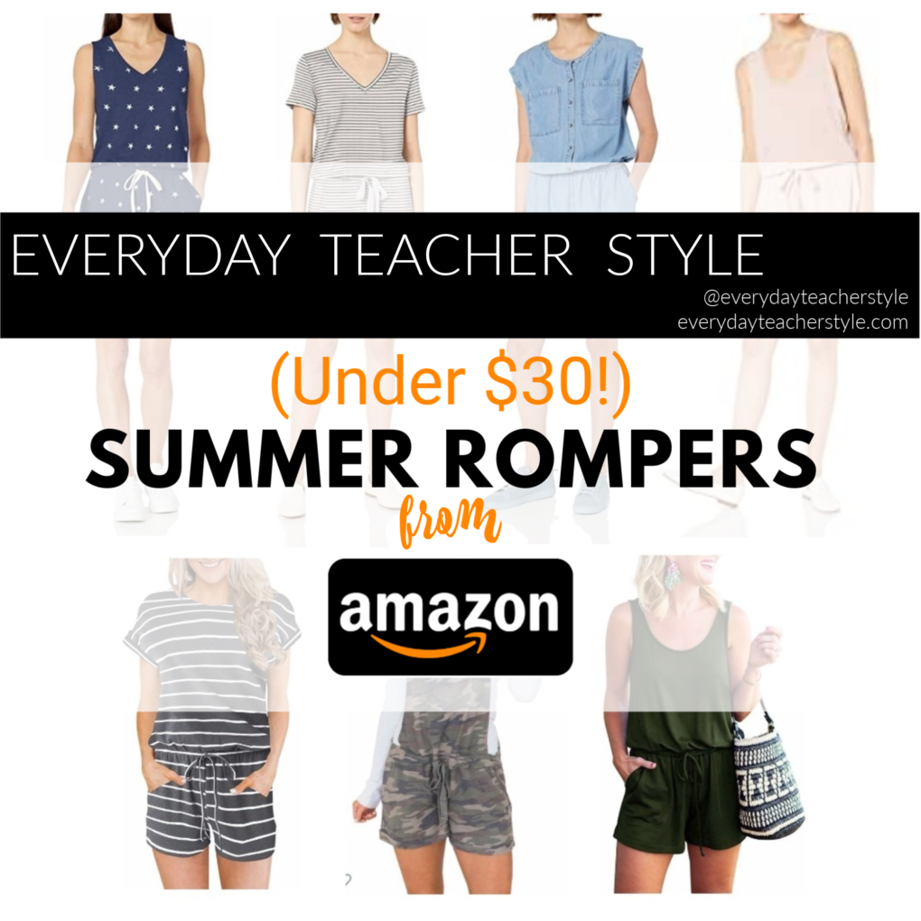 Summer Rompers from Amazon under $30