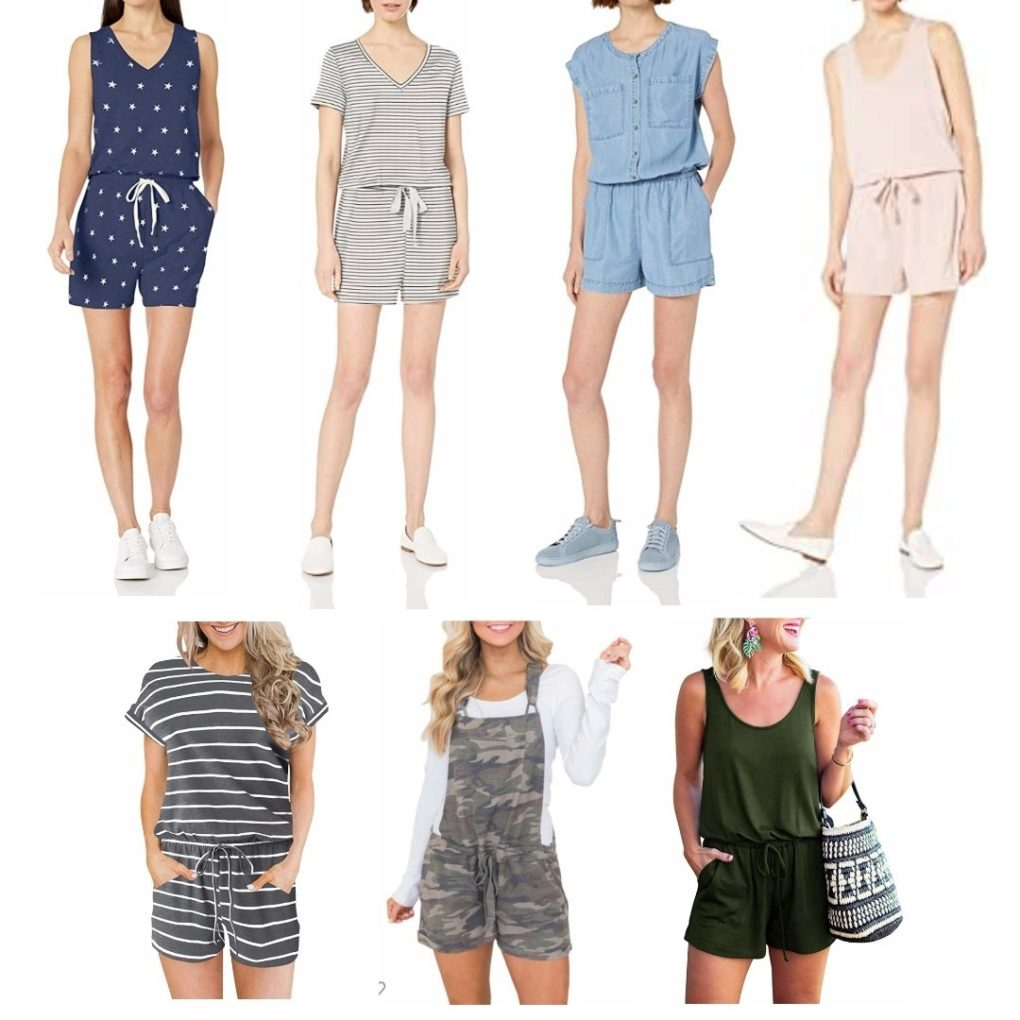 Under $30 Summer Rompers from Amazon