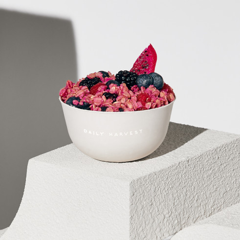 Daily Harvest Mulberry and Dragon Fruit Oat Bowl review