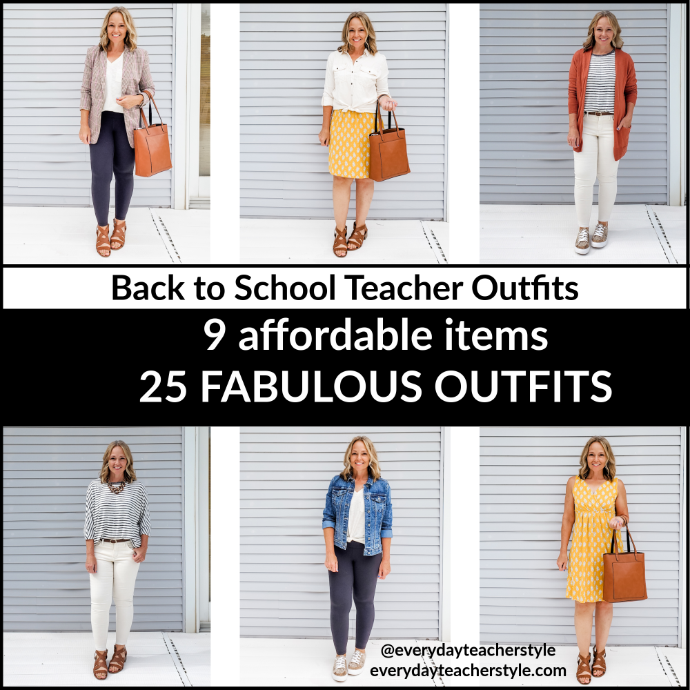 back to school teacher outfit ideas