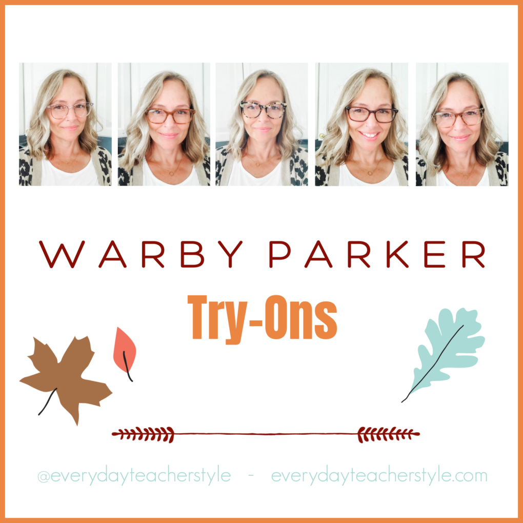 Warby Parker Glasses Frames Try On Title Image