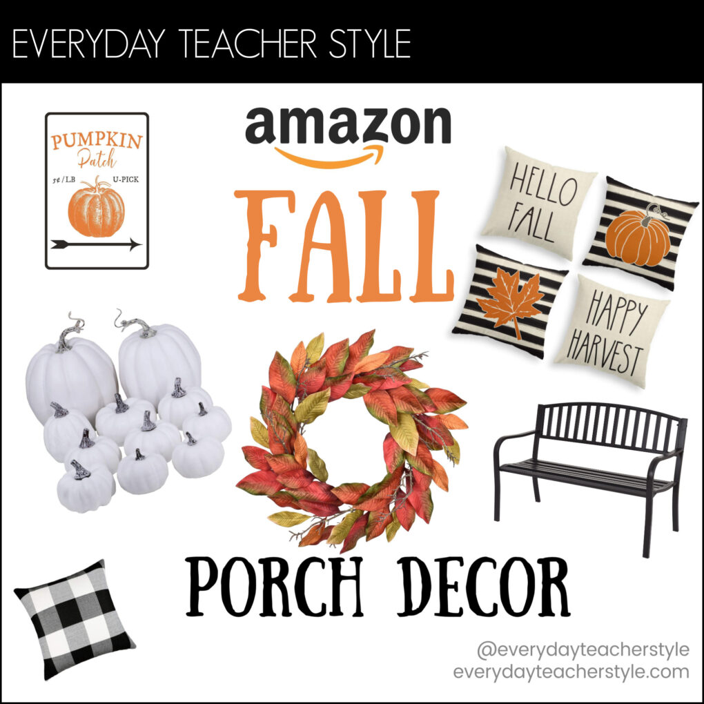 Amazon Fall Porch Decor Header Image