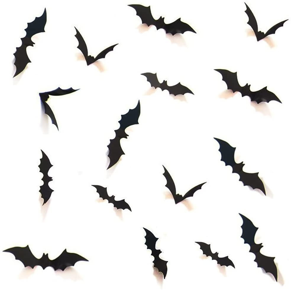 halloween bat wall decals outdoor indoor