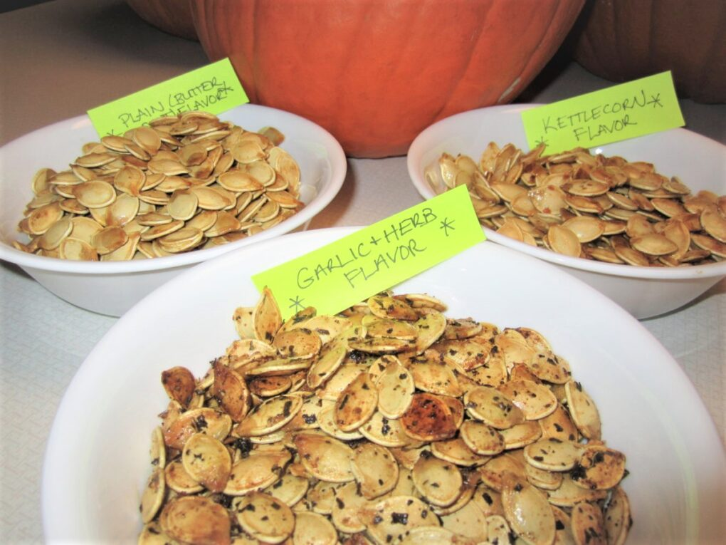 Everyday Teacher Style flavored pumpkin seeds