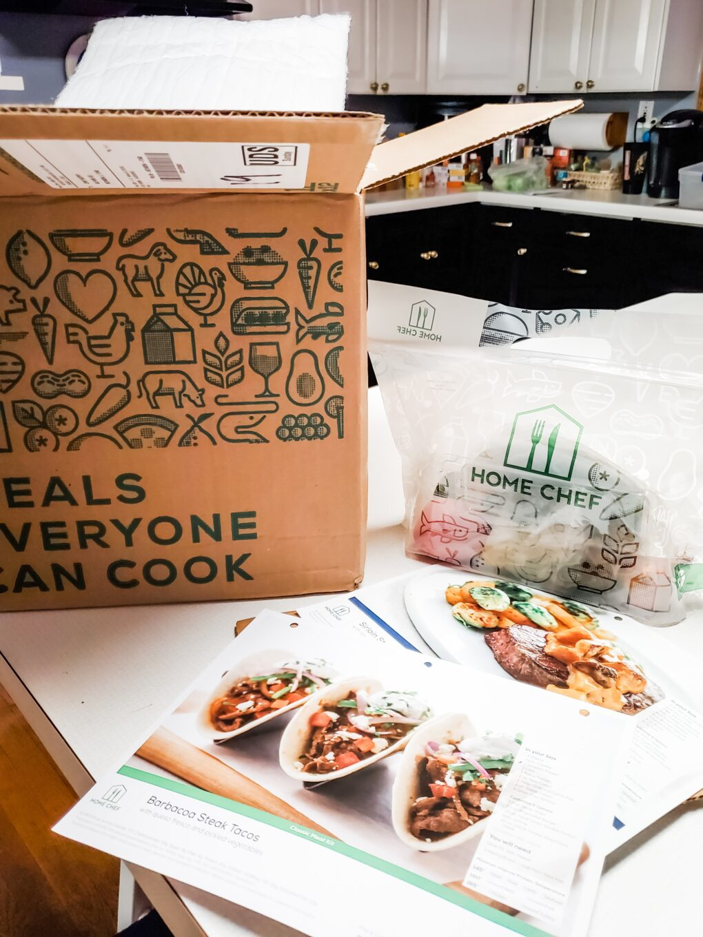 Home Chef Box Packing Image