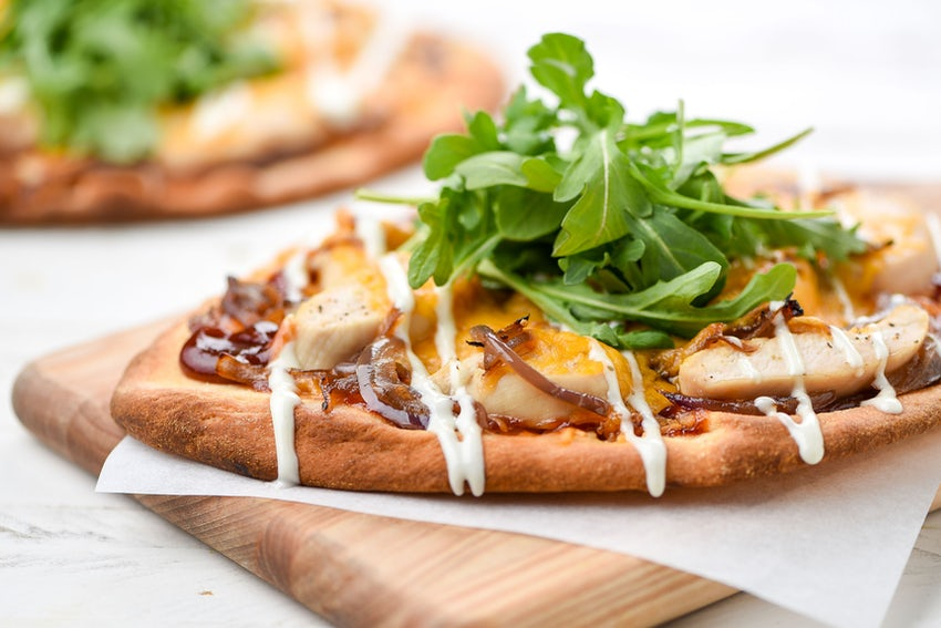 Home Chef Image of Chicken Barbecue Flatbread