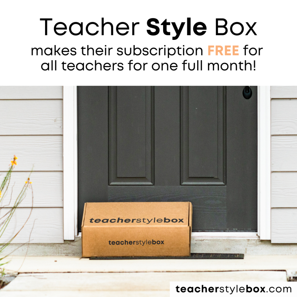 Teacher Style Box box at your front door image