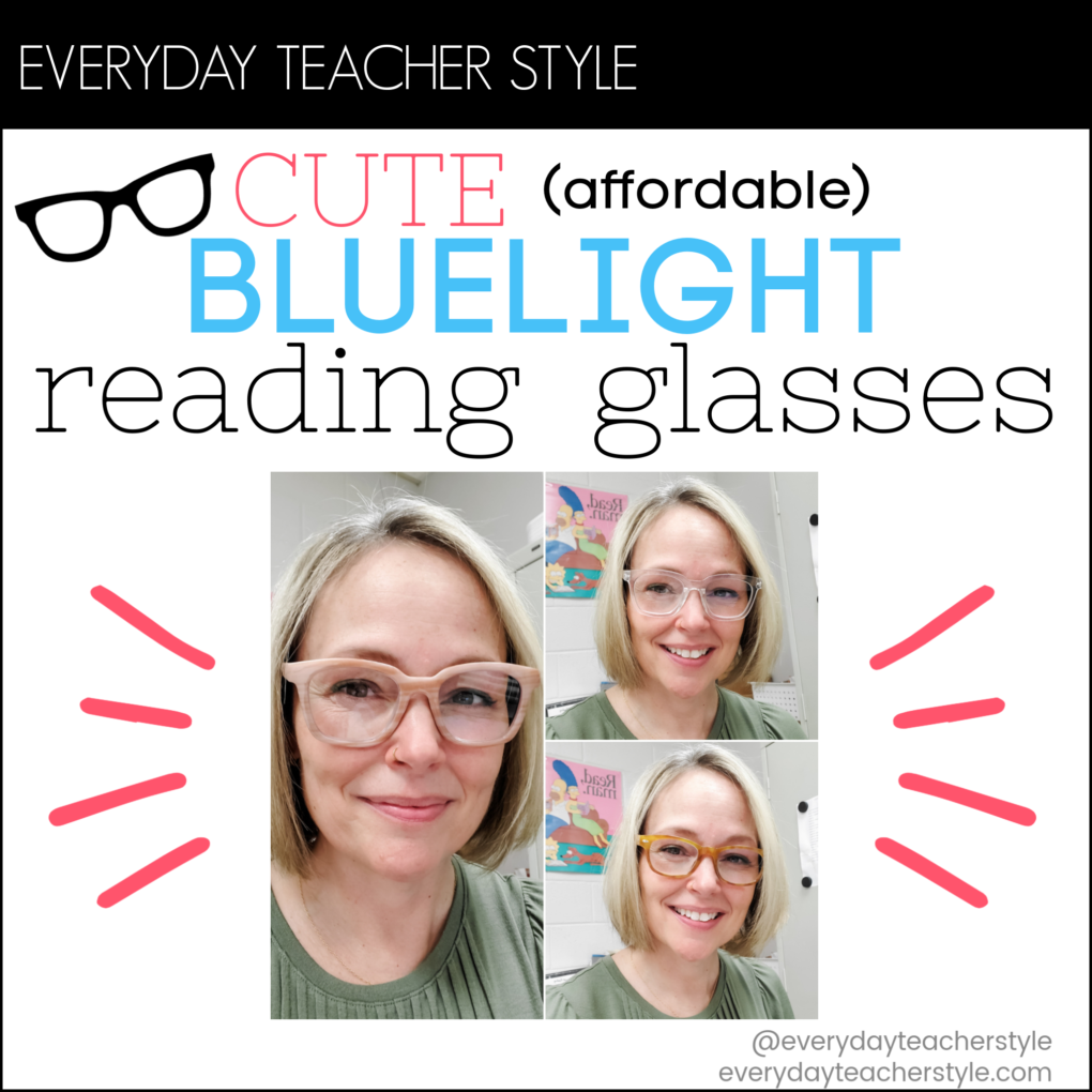 Cute Affordable Blue Light Blocking Reading Glasses Post Image