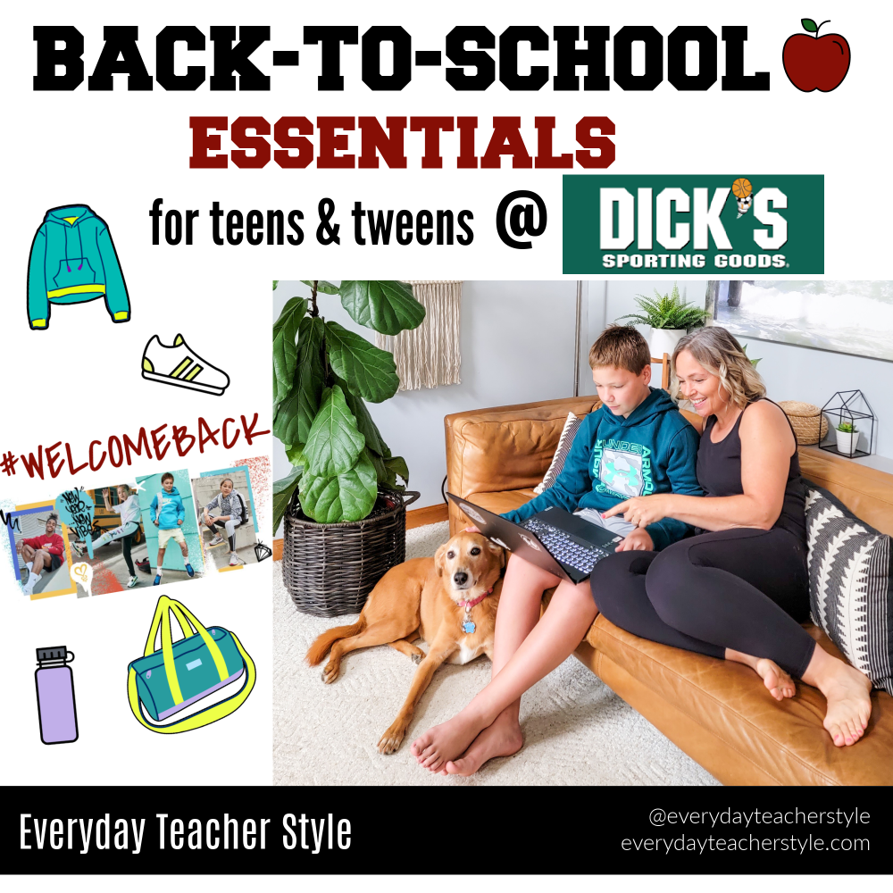 Back-to-School Essentials for Teens and Tweens at Dick's Sporting Goods header image