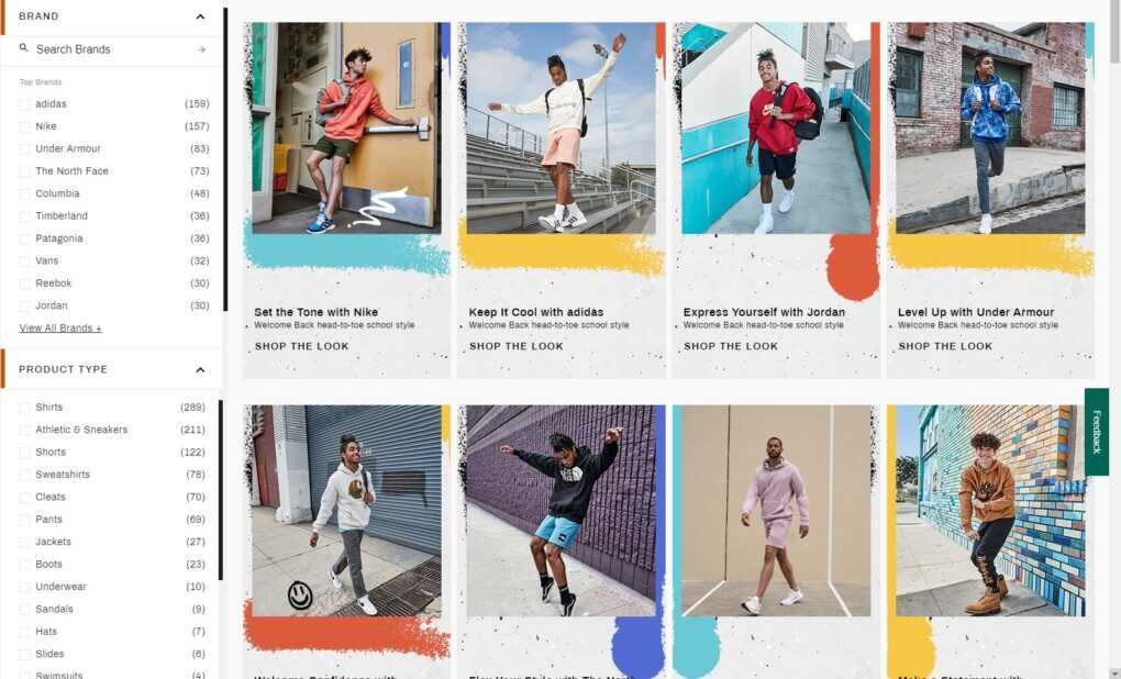 DICK'S Sporting Goods Curated Looks for Teens and Tweens Guys Men