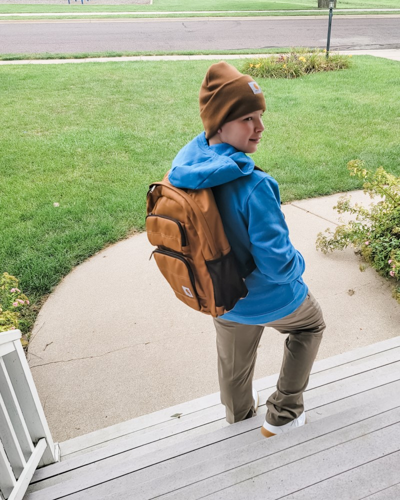 Jay with Carhartt Legacy Standard Work Pack